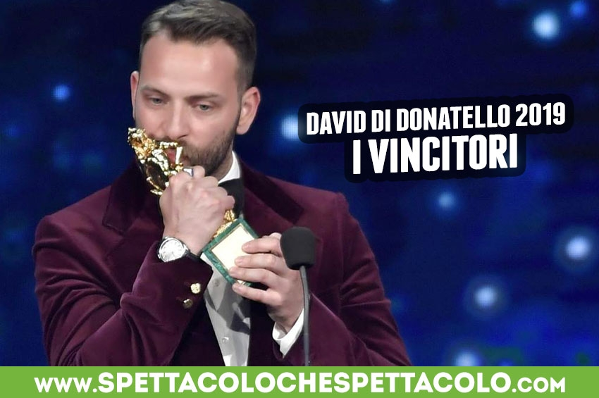 David di Donatello 2019: tutti i vincitori