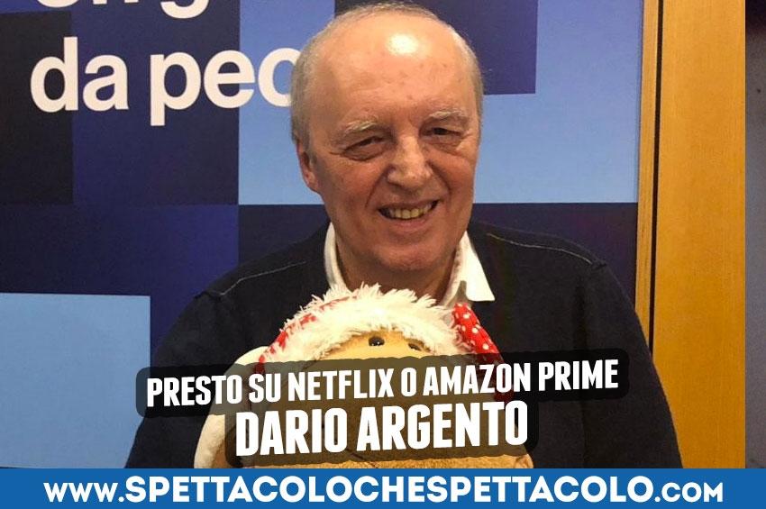 Dario Argento: presto su Netflix o Amazon