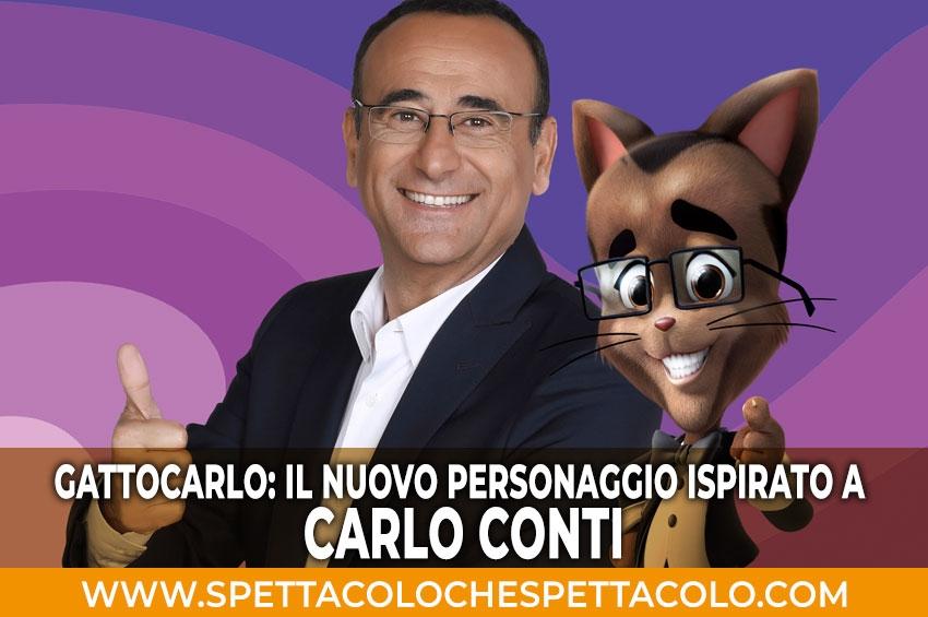 Carlo Conti diventa un gatto!