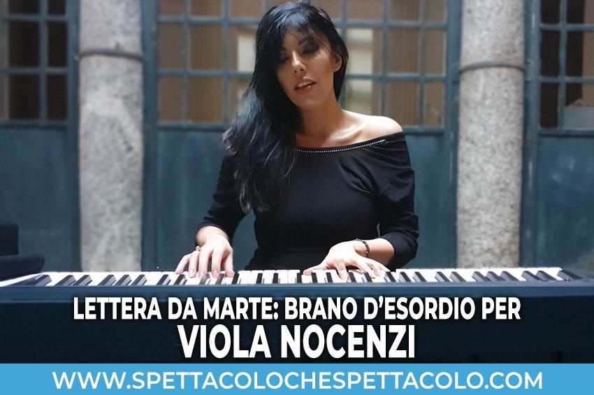 Lettera da Marte: brano d'esordio per Viola Nocenzi