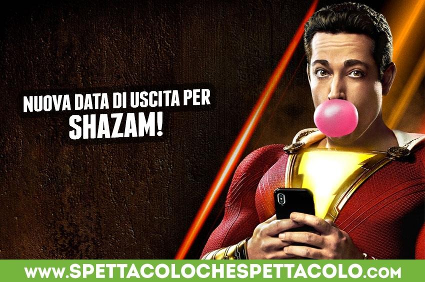 Nuova data di uscita per Shazam!