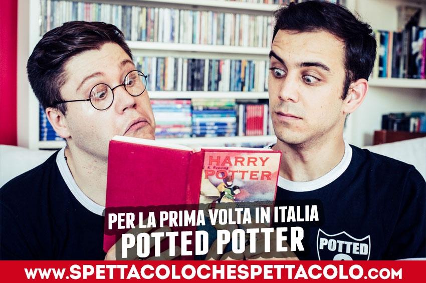 Potted Potter: a Milano debutta la parodia sulla saga di Harry Potter